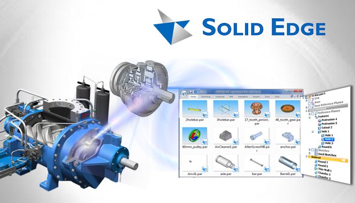 Solid Edge A Complete 3d Cad System