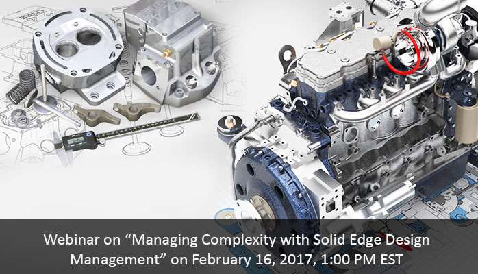 Managing Complexity with Solid Edge Design Management