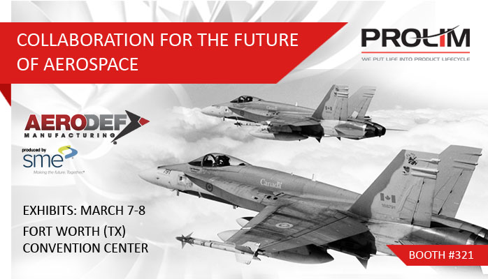 PROLIM Featured Exhibitor at 2017 AeroDef Manufacturing Conference