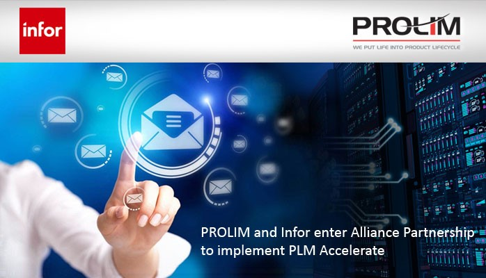 PROLIM and Infor enter Alliance Partnership to implement PLM Accelerate