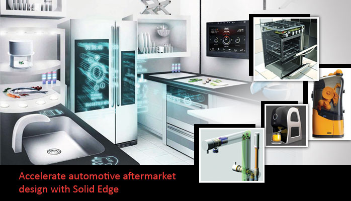 Accelerate Automotive Aftermarket Design with Solid Edge