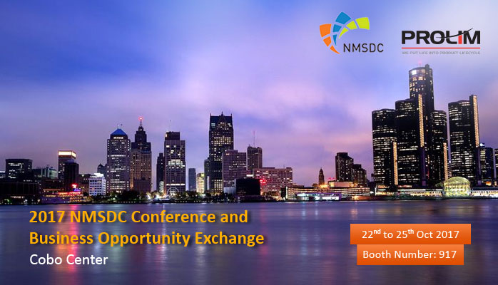 PROLIM is a Proud Exhibitor of 2017 NMSDC Conference – Join us at Booth #917